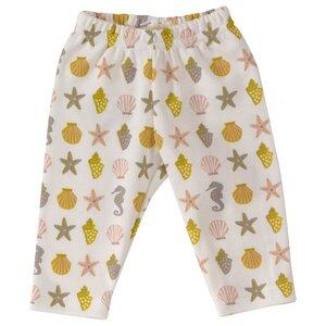 Babyhose Legging plus Langarmshirt Mädchen 6-12 Monate Baumwolle ( bio) beige rose 2 Teile - Organcis for kids Pigeon