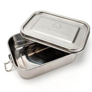 Kleine Edelstahl Brotdose - Lunchbox | 800 ml mit Dichtungsring - samebutgreen
