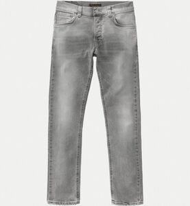 Grim Tim Light Grey Trashed - Nudie Jeans