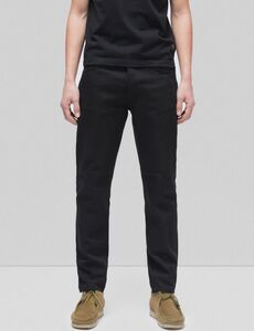 Steady Eddie II Dry Black Twill - Nudie Jeans