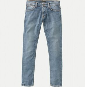 Tight Terry Steel Indigo Cross - Nudie Jeans