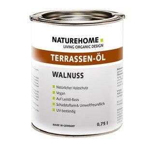 Terrassen-Öl Holzöl Lasur Außenbereich 750 ml verschiedene Farben - NATUREHOME