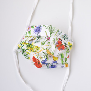 Alltagsmaske (Mund-Nasen-Maske) - Erwachsene - little bee fresh
