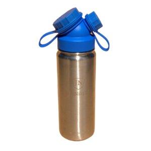 JuNiki´s® eco line isolierte Edelstahl Trinkflasche 550ml - Blau oder Pink (Teesieb ergänzbar) - JN JuNiki's