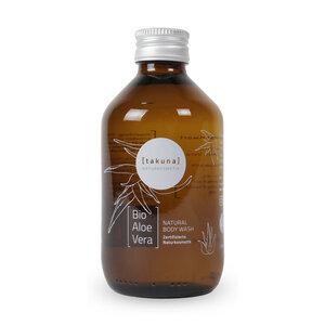 Body Wash | Bio-Aloe Vera 250ml in Glas-Mehrwegflasche - Takuna Naturkosmetik