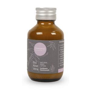 Body Lotion | Bio-Aloe Vera 100ml in Glas-Mehrwegflasche - Takuna Naturkosmetik