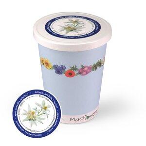 Blumen im Becher TO GROW - Edelweiss - MacFlowers