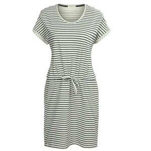 Sweat Kurzarm Sweat Sommerkleid Streifen  - recolution
