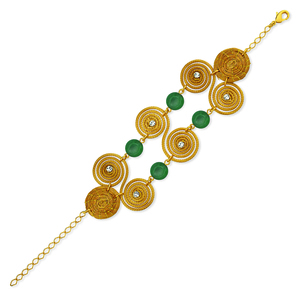 Armband Hanna Bio aus Golden Grass - Aline Celi