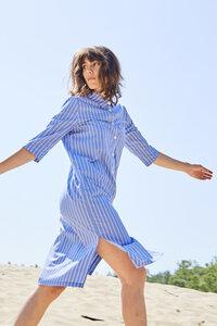 Hemdblusenkleid TESSA aus Bio-Baumwolle - stoffbruch