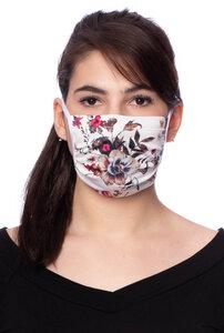 Leichte einlagige Maske für den Sommer aus herrlich weicher Bambus-Viskose - Milchshake