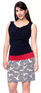 Maritimes Sommerkleid ANTONIA aus Bio Baumwolle (Milchshake Woman) - Milchshake