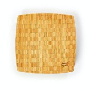 Hackbrett / Hackblock aus 100% Bambus - Schneidebrett ca. 3kg schwer - Bambuswald
