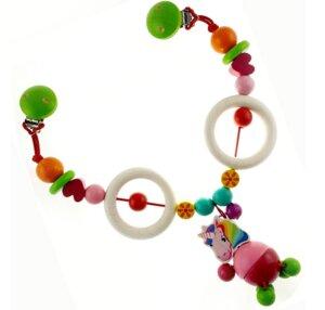 Hess Kinderwagenkette Einhorn - HESS Holzspielzeug