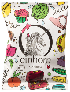Einhorn Kondome Muschigegenstände - Einhorn