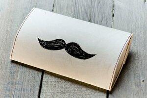 Tabakbeutel - Moustache, Baby! - paprcuts