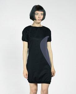 Sommerkleid aus SATIN - aus BIO Baumwolle - LASALINA