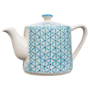 Teekanne Retro aus Steinzeug 800 ml - TRANQUILLO