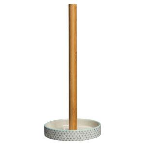 Küchenrollenhalter Traditional aus Steinzeug - TRANQUILLO