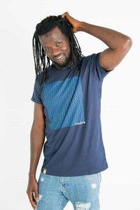 Uhuru - Männer Bio T-shirt - Blau - Maishameanslife