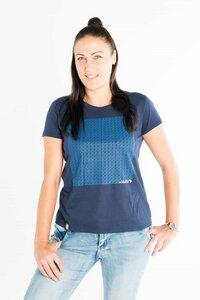 Uhuru - Frauen Bio T-shirt - Blau - Maishameanslife