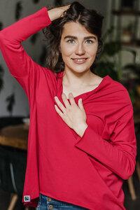 Bluse Minimal Pink from Fairtrade Cotton - KOKOworld