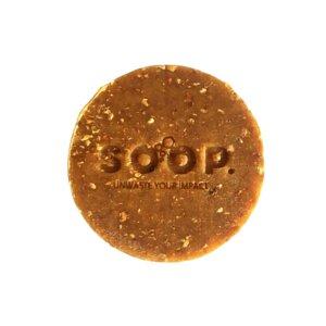 Pflanzliche Peelingseife mit Orangenschalen zum Duschen I 100% pflanzlich und vegan I Orangenseife bei unreiner Haut - CIRCLY