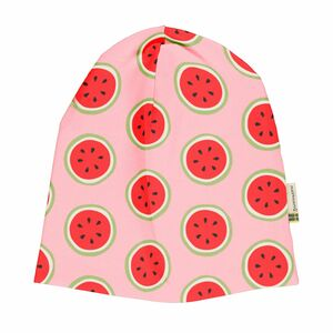 Maxomorra Mütze hat regular water melon rosa - maxomorra