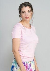 T-Shirt Basic ohne Druck - Green Size