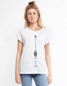 Eukalyptus T-Shirt Laura mit Giraffe - CORA happywear