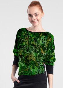 Langarmshirt - Muster Tropical - Lasalina - LASALINA
