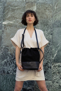 Beuteltasche Bucket Bag Lederbeutel - frisch Beutel