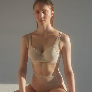 Chloe – Formender Bügel-BH aus recyceltem Mesh - Opaak