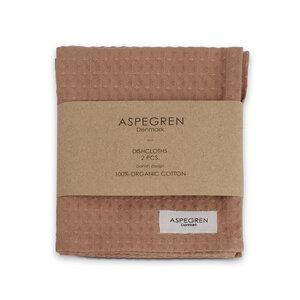 2er Pack Spültücher 32 x 40 cm Bio-Baumwolle - Aspegren