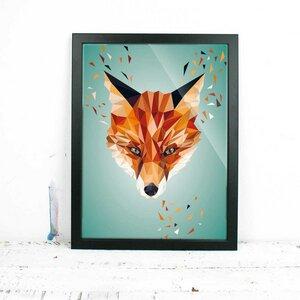 Fuchs, Fine Art Print - Printe