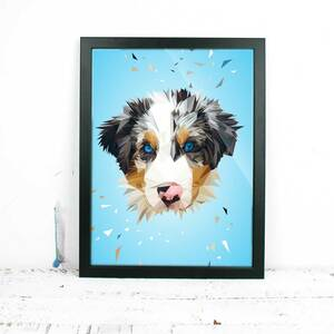 Hund, Fine Art Print - Printe