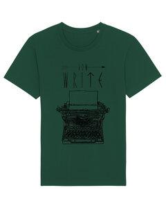 """Bio Faires Herren T-Shirt """"Schreibmaschine""""  - ilovemixtapes"""
