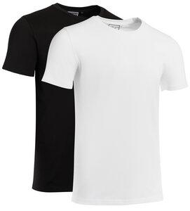 COREBASE / Basic 2er Pack T-Shirt / 180 gr/m² / Rundhals Ausschnitt / Unisex - COREBASE
