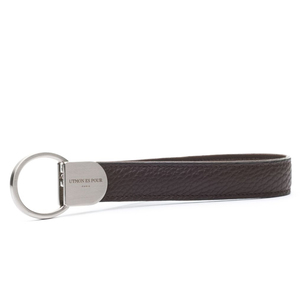 Schlüsselanhänger, Keyring aus Leder - UTMON ES POUR PARIS