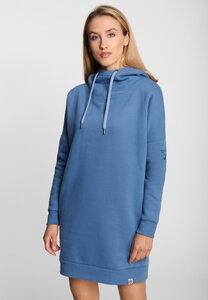 "Damen Sweatkleid aus Bio Baumwolle & rec. PES ""Small Ship SweatDRESS"" - derbe"