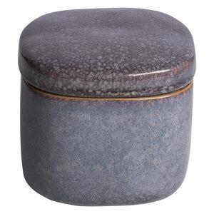 Dose aus Steinzeug in lavender - TRANQUILLO