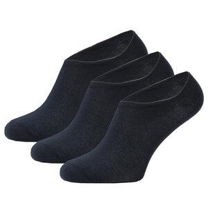 3er Set Bambus No Show Invisible Sneaker Socken - Opi & Max
