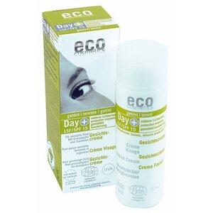 Gesichtscreme LSF 15 getönt mit Granatapfel und Sanddorn - eco cosmetics