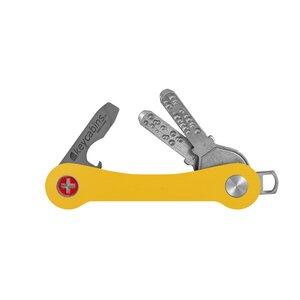 "Schlüsselhalter aus upcycling Ski / Snowboard ""keycabins"" - keycabins"