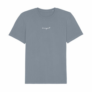 Unisex T-Shirt aus Bio-Baumwolle DRESSGOAT - grau/blau - dressgoat