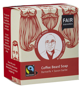 FAIR SQUARED Coffee Beardsoap / Bartseife 2x80gr. - Fair Squared