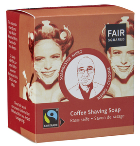 FAIR SQUARED Coffee Shaving Soap / Rasurseife 2x80gr. - Fair Squared