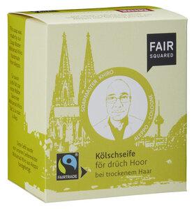FAIR SQUARED Kölschseife för drüch Hoor (Shea) 2x80gr. - Fair Squared