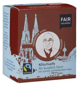 FAIR SQUARED Kölschseife för kuselisch Hoor 2x80gr. - Fair Squared
