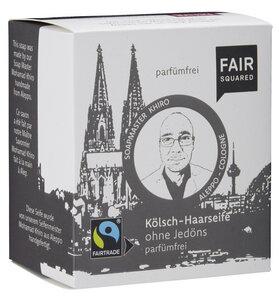 FAIR SQUARED Kölschseife ohne Jedöns för de Pläät 80gr. - Fair Squared